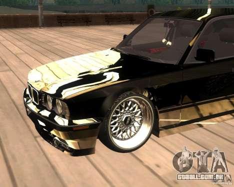 BMW M5 E34 Street para GTA San Andreas vista direita