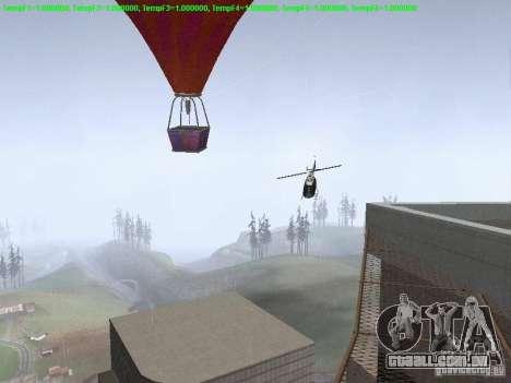 Balão-estilo hippie para GTA San Andreas vista traseira