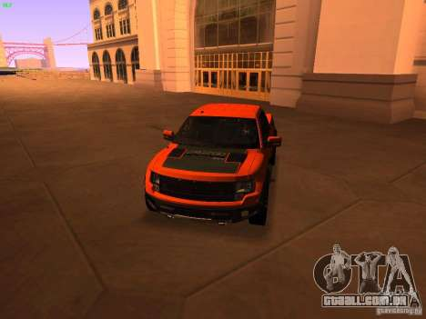 Ford F-150 SVT Raptor 2009 Final para GTA San Andreas