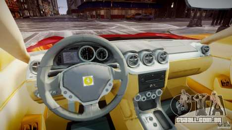 Ferrari 612 Scaglietti custom para GTA 4 vista direita