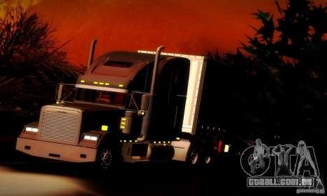 Freightliner Classic XL para GTA San Andreas vista superior
