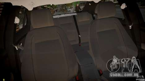 Saab 9-3 Aero X FINAL para GTA 4 vista interior
