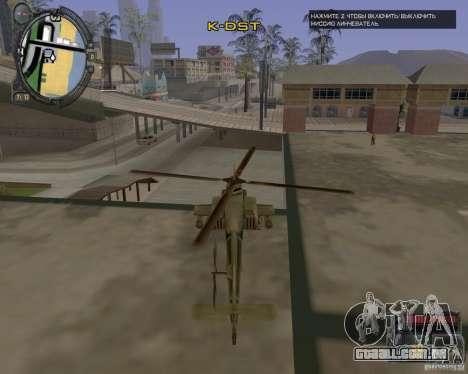 iCEnhancer beta para GTA San Andreas terceira tela