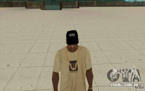 Chefe black cap para GTA San Andreas