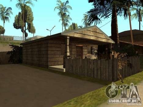 Retekstur casas em Groove Street para GTA San Andreas terceira tela