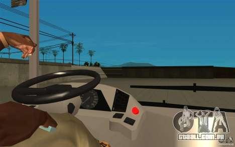 Laz-A183 cidade Laz para GTA San Andreas vista traseira
