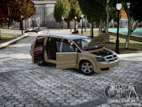 Dodge Grand Caravan SXT 2008 para GTA 4 esquerda vista