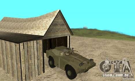 BRDM-1 pele 2 para GTA San Andreas