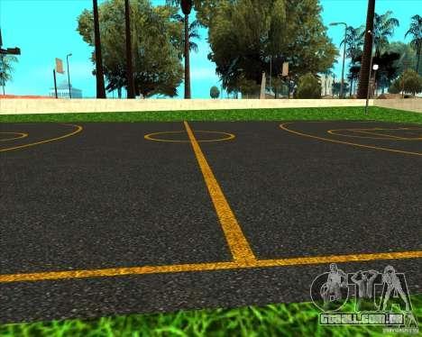 Basquete de HQ para GTA San Andreas terceira tela