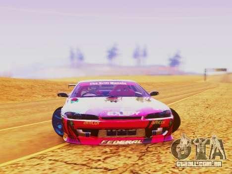 Nissan Silvia S15 EXEDY RACING TEAM para GTA San Andreas vista direita