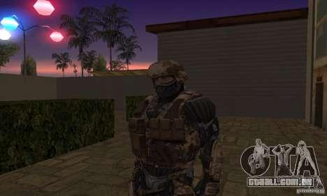 Crysis NanoSuit para GTA San Andreas