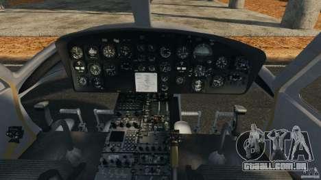 Bell UH-1 Iroquois para GTA 4 vista de volta