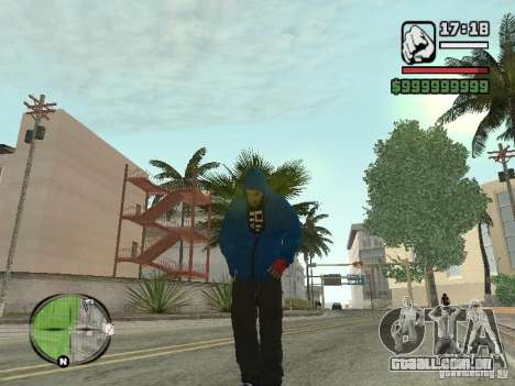 RunMan para GTA San Andreas por diante tela