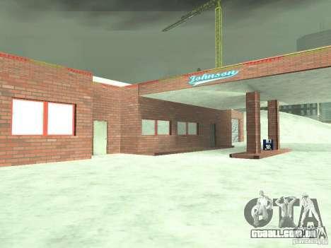 Neve v 2.0 para GTA San Andreas décimo tela