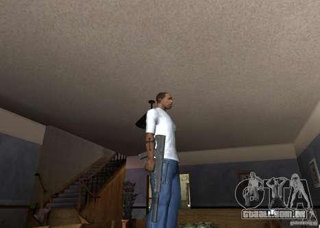 QCW-05 para GTA San Andreas terceira tela