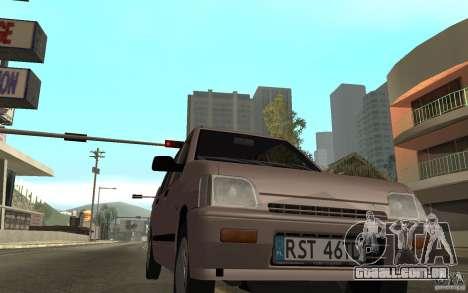 Daewoo Tico SX para GTA San Andreas esquerda vista