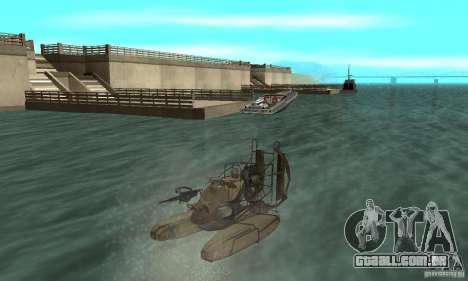 HL2 Airboat para GTA San Andreas