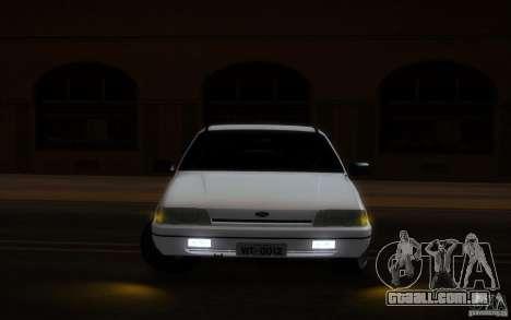 Ford Versailles 1992 para GTA San Andreas vista interior