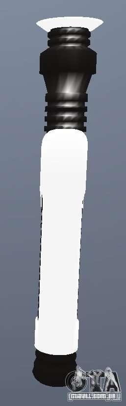 Lightsabre v2 Brassknuckle para GTA San Andreas segunda tela