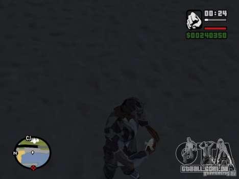 The present fishing mod V1 para GTA San Andreas segunda tela