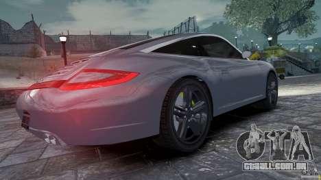 Porsche Targa 4S 2009 para GTA 4 vista direita
