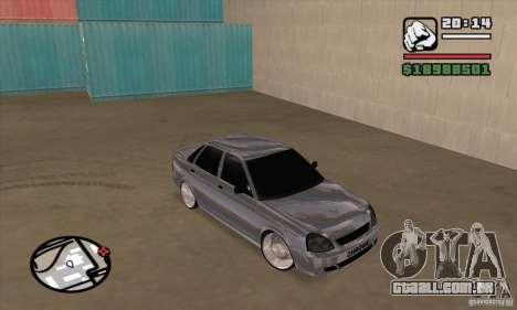 LADA 2170 Chrome para GTA San Andreas