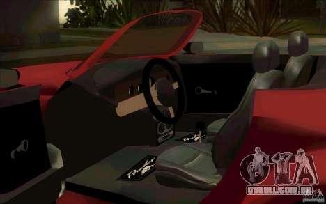 Plymouth Prowler para GTA San Andreas vista traseira