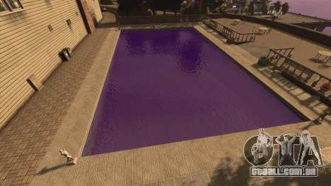 A cor púrpura da água para GTA 4 segundo screenshot