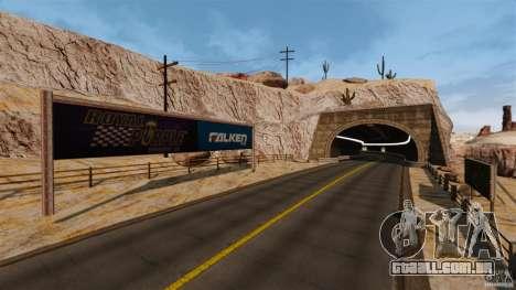 Ambush Canyon para GTA 4 nono tela