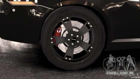 NFSOL State Police Car [ELS] para GTA 4 vista de volta
