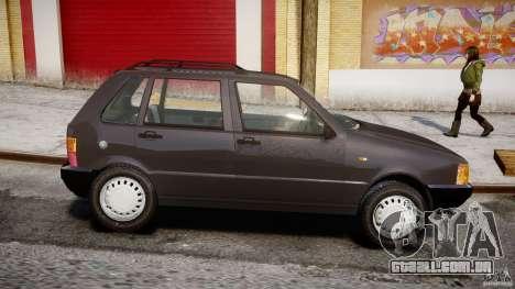 Fiat Uno 70SX 1989-1993 para GTA 4 esquerda vista
