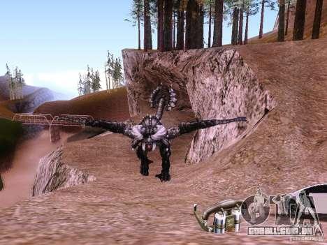 Dragão v 2.0 para GTA San Andreas terceira tela