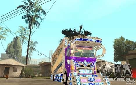 ART TRACK para GTA San Andreas vista traseira