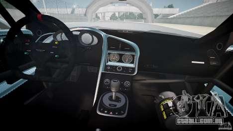 Audi R8 para GTA 4 vista superior