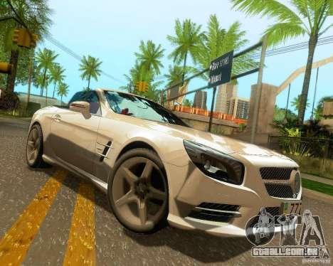 Mercedes-Benz SL350 2013 para as rodas de GTA San Andreas
