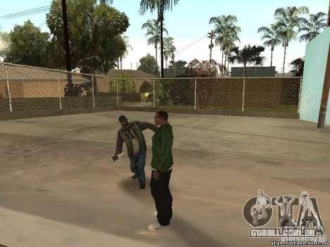 Comportamento de outras pessoas para GTA San Andreas