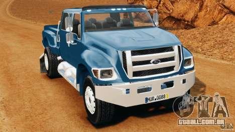 Ford F-650 XLT Superduty para GTA 4