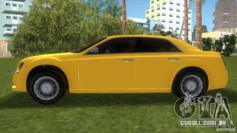 Lancia Nuova Thema para GTA Vice City vista traseira esquerda
