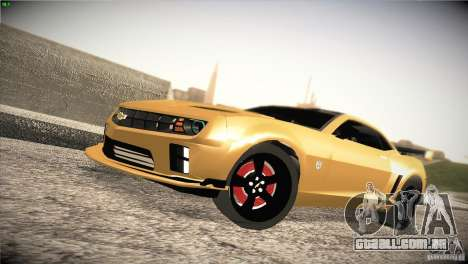 Chevrolet Camaro SS Transformers 3 para GTA San Andreas