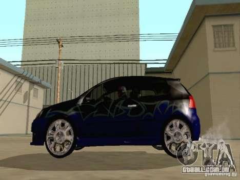 Volkswagen Golf V GTI para vista lateral GTA San Andreas