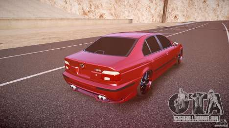 BMW M5 E39 Hamann [Beta] para GTA 4 vista superior