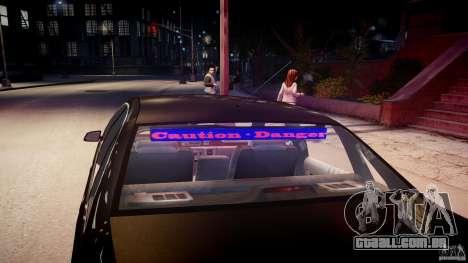 Chevrolet Caprice FBI v.1.0 [ELS] para GTA 4 motor