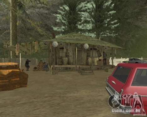 Em uma visita a vovó para GTA San Andreas quinto tela
