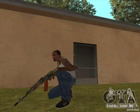 AK-74 com a textura de Metro 2033 para GTA San Andreas