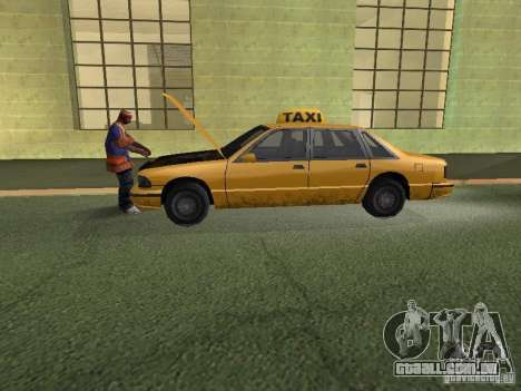 Espaço animado v 1.0 para GTA San Andreas sexta tela