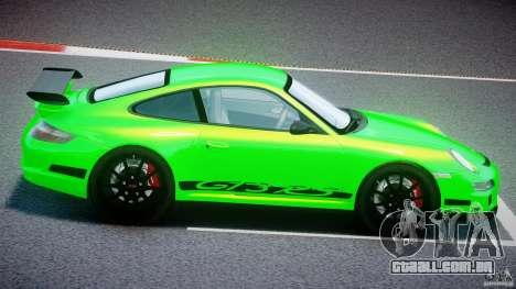 Porsche 997 GT3 RS para GTA 4 vista lateral