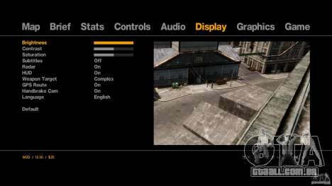 Low End PC ENB By batter para GTA 4 twelth tela