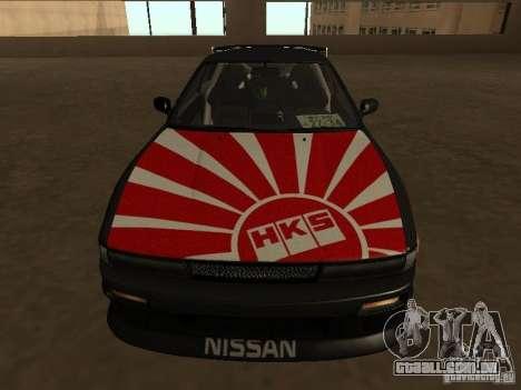Nissan Silvia S13 JDM para GTA San Andreas