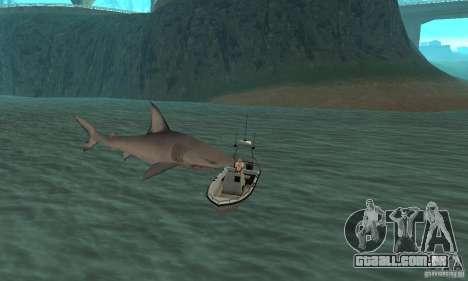 Shark Killer para GTA San Andreas por diante tela