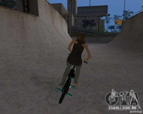 Tony Hawks Emily para GTA San Andreas terceira tela